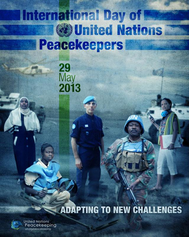 peacekeeping day poster
