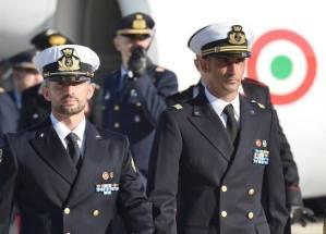 Italian Maro' prisoners in India