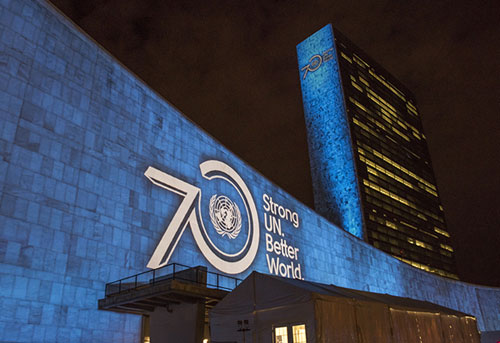 Happy Birthday United Nations! #UN70
